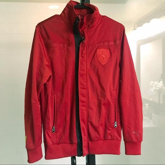 2f4cd0307037 Scuderia Ferrari Jackets   Coats